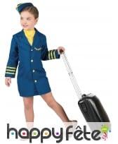 Uniforme d'hôtesse de l'air pour enfant, image 1
