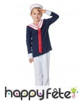 Uniforme de petit marin pour garçon
