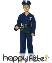 Uniforme de policier pour enfant, modèle luxe