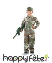 Uniforme de soldat pour garçon