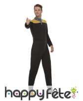 Uniforme de Star Trek or noir pour homme, image 1