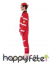 Uniforme rouge de pompier pour ado, image 1