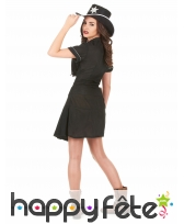 Uniforme robe noire de femme shérif, image 2
