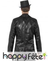 Veste à sequins noirs pour homme, image 1