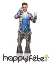 Veste de Carnaval multicolore pour homme