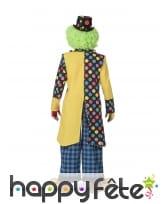 Veste de clown avec gros noeud multicolore, homme, image 1