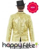 Veste dorée de cabaret, pour homme, image 1