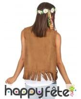 Veste de hippie marron pour femme, image 1