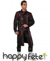 Veste et pantalon d'oeil-de-faucon pour homme luxe