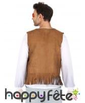 Veste marron de hippie pour homme, image 1