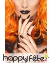 Vernis noir et lipstick, image 1