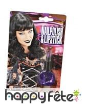 Vernis noir et lipstick, image 3