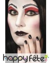 Vernis noir et lipstick, image 4