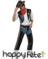 Costume Cowboy des Village People Licence