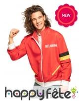 Veste pour supporter de l'équipe de Belgique