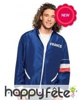 Veste pour supporter de l'équipe de France