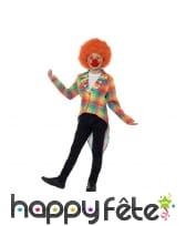 Veste queue de pie de clown pour enfant, image 1