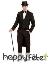 Veste Queue de pie noire pour homme
