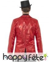 Veste rouge à sequins pour homme, image 1
