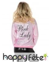 Veste rose Pink Lady années 50