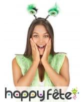 Yeux verts sur serre-tête, image 1