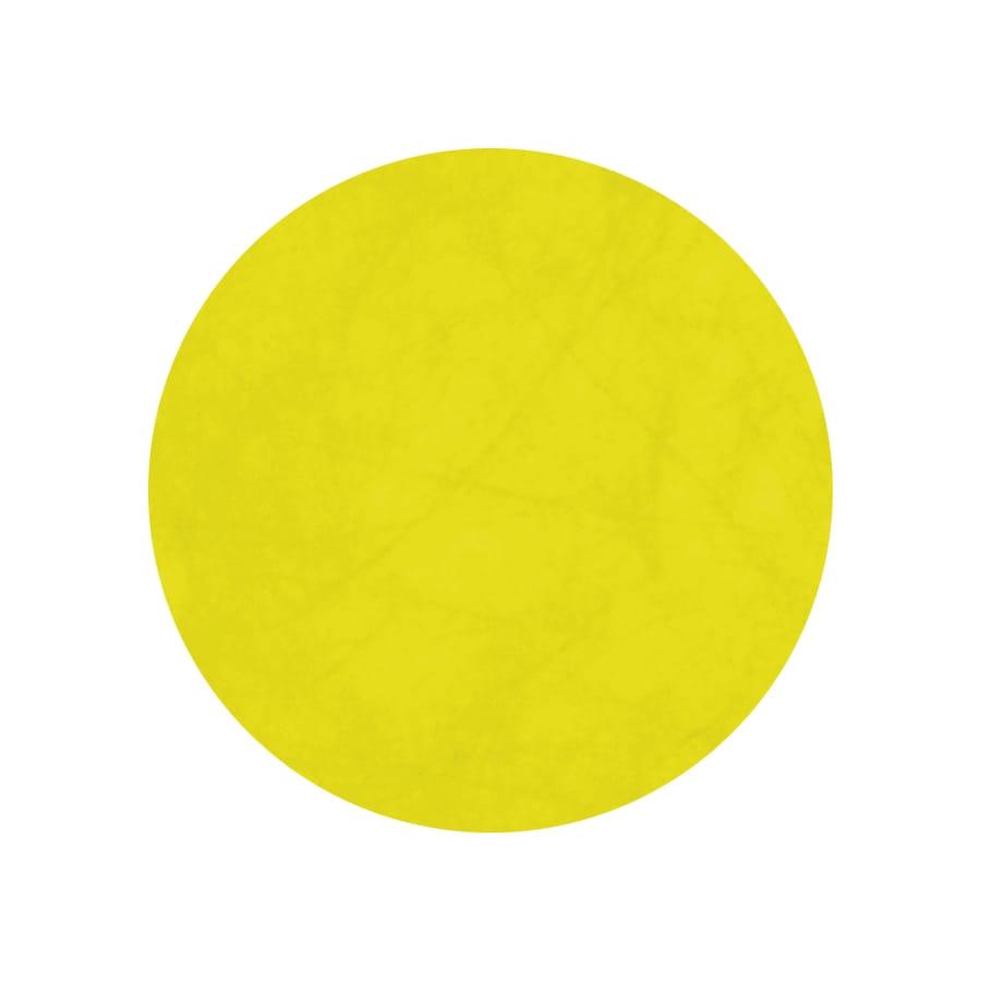 10 sets de table jaune ronds for Set de table jaune