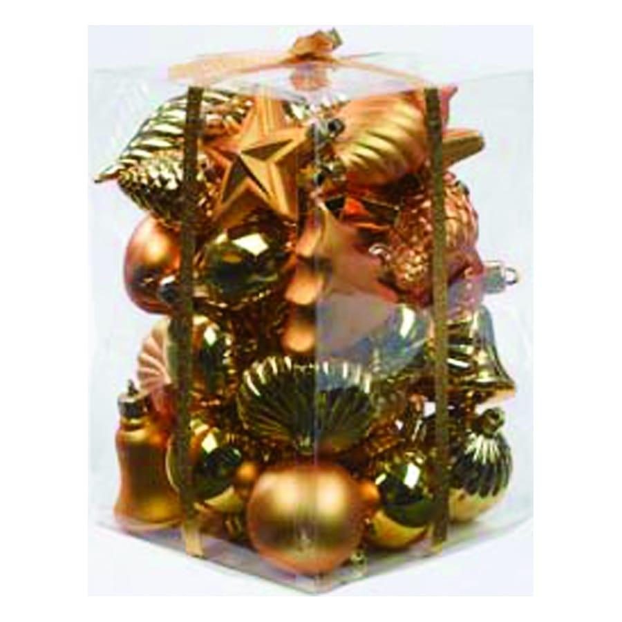 40 decorations dor es pour sapin de noel - Decoration pour sapin de noel ...