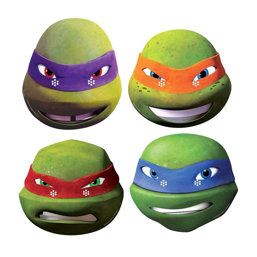 4 masques des tortues ninja - Image tortue ninja ...
