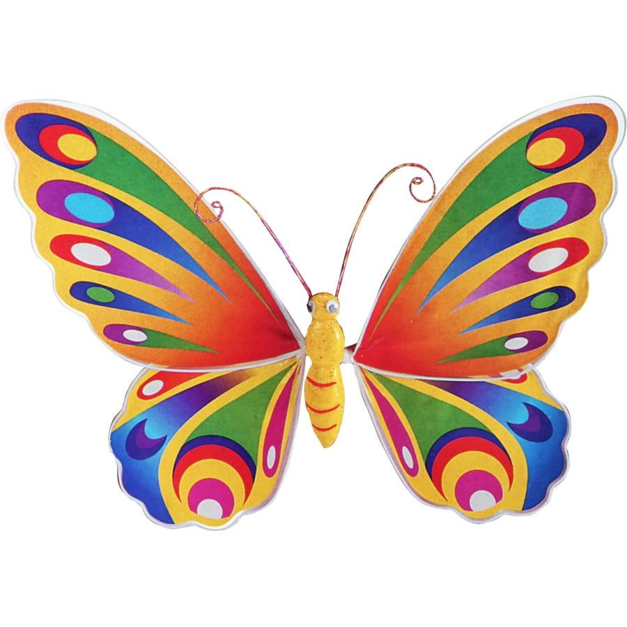 Ailes de papillon multicolores pour enfant - Image de papillon a imprimer ...