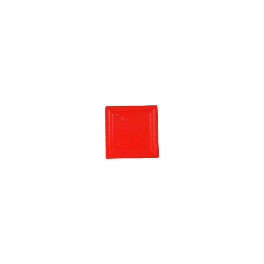 assiettes en plastique carr es rouge. Black Bedroom Furniture Sets. Home Design Ideas