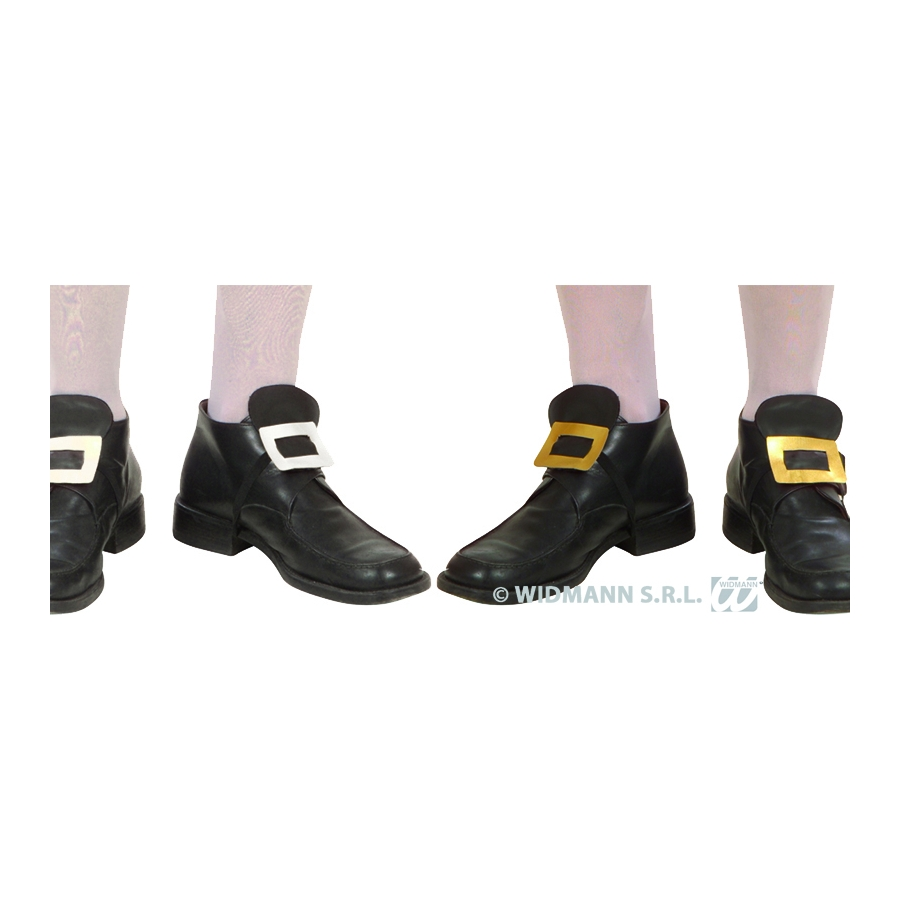 b1c39726d1e Boucles de chaussures dorée ou argentée