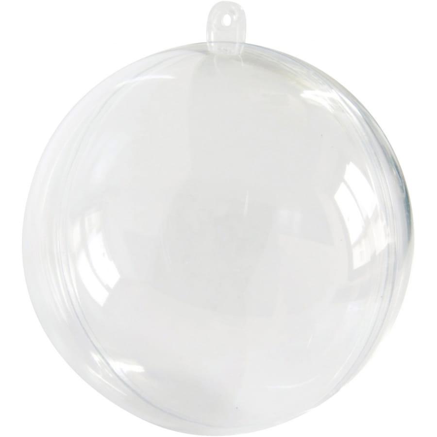 Boule de no l transparente - Boule transparente deco noel ...
