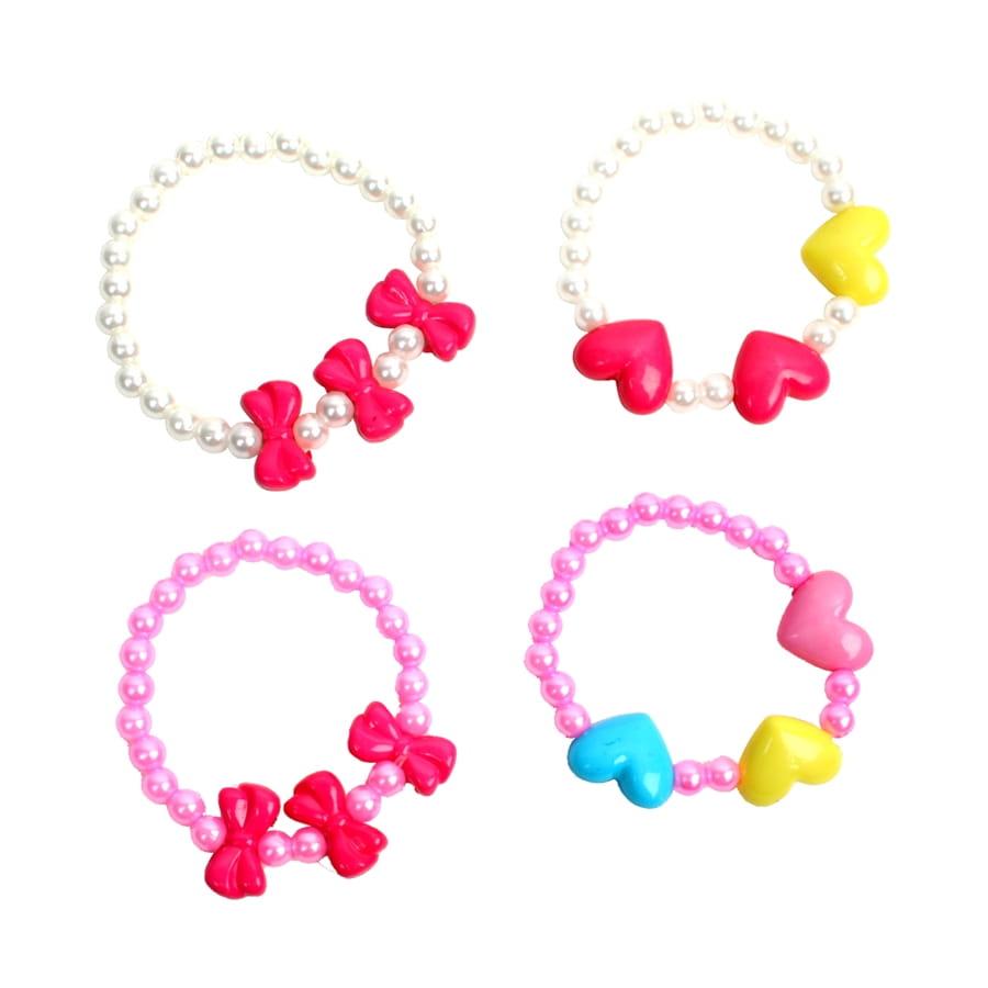 En Fille Pour De Plastique Bracelet Perles Petite 3j54RALq