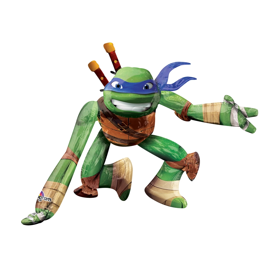Ballon en forme de l onardo tortue ninja for Repere des tortue ninja