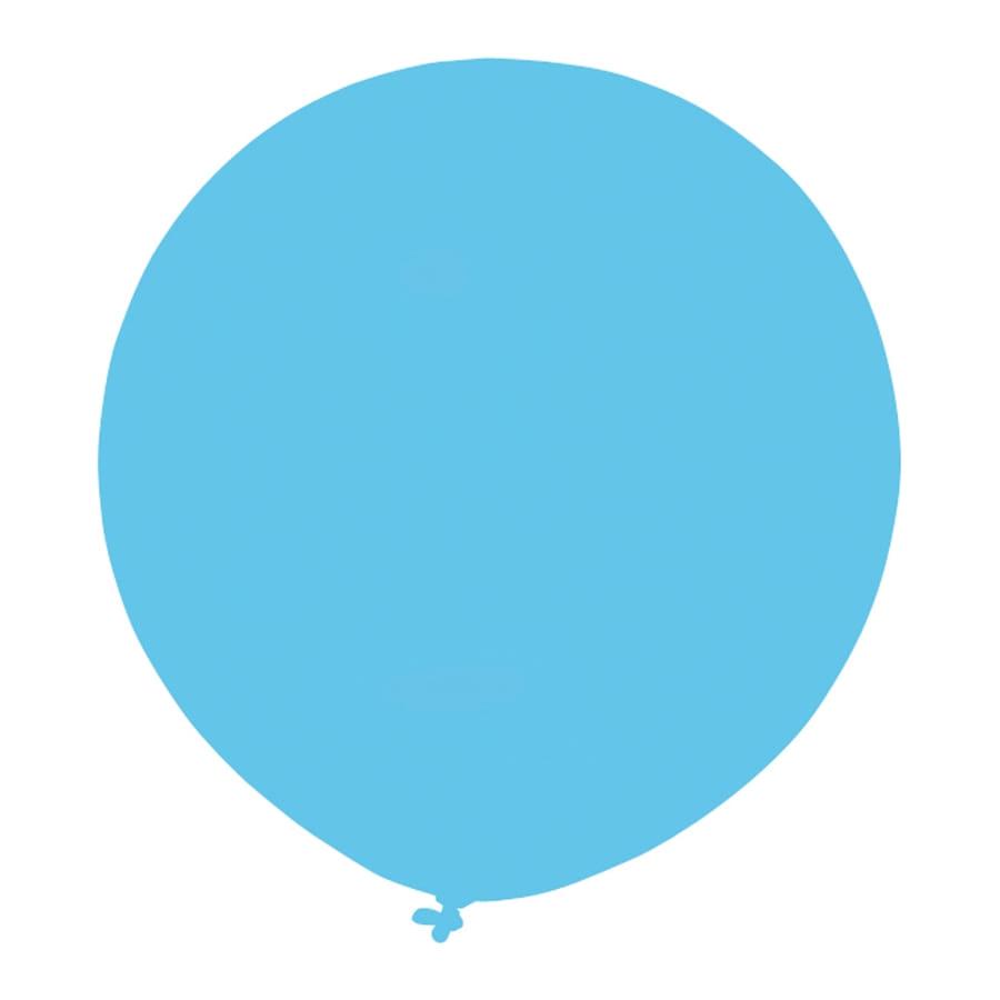 ballon g ant bleu lagon de 64cm. Black Bedroom Furniture Sets. Home Design Ideas
