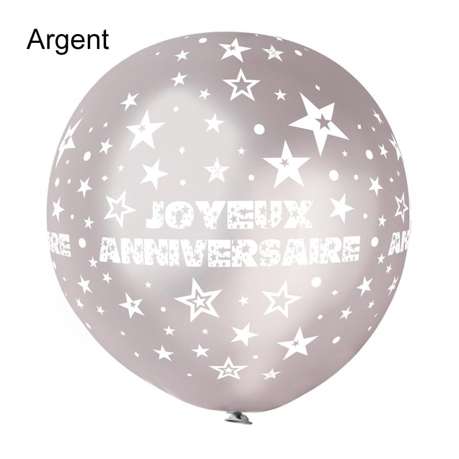 Ballon Joyeux Anniversaire Géant