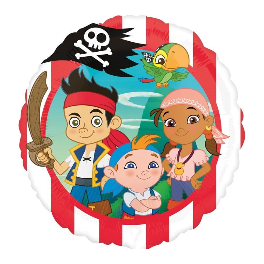 Ballon jake et les pirates de 43cm - Jake et les pirates ...