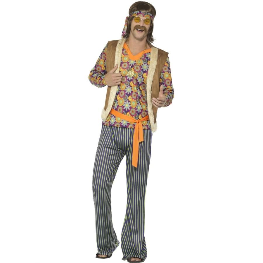 costume ann es 60 motifs hippie pour homme. Black Bedroom Furniture Sets. Home Design Ideas