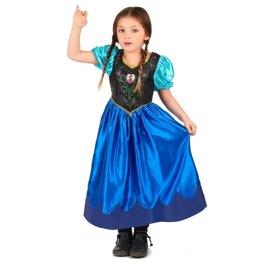Costume anna reine des neiges pour enfant - Ana reine des neiges ...
