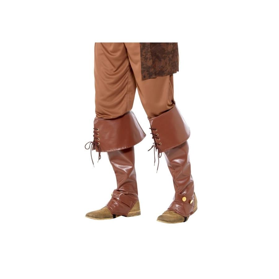 la moitié 752d6 c05c3 Couvres bottes marron de pirate, deluxe