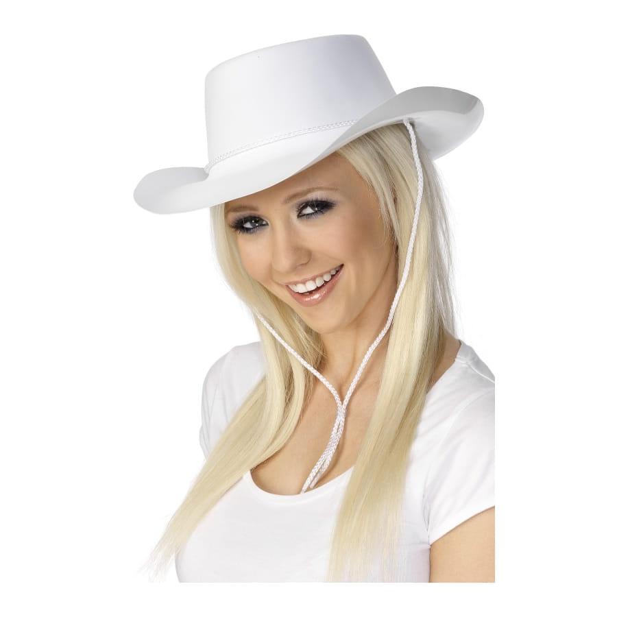chapeau cowboy adulte blanc. Black Bedroom Furniture Sets. Home Design Ideas