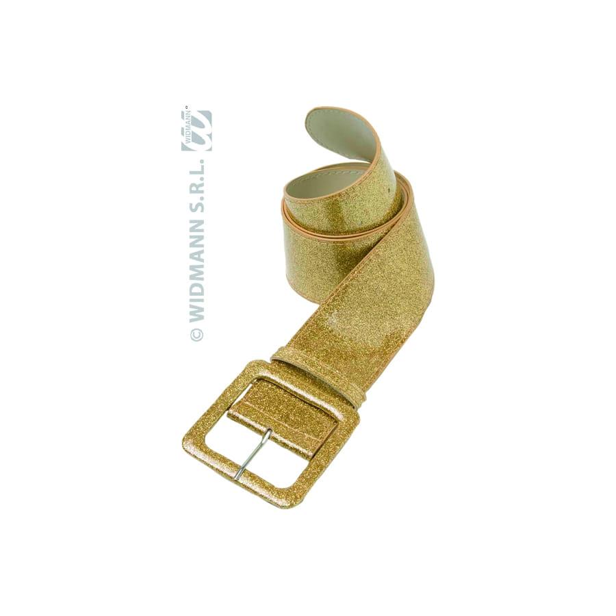 ab1b468c435 Ceinture dorée avec paillettes