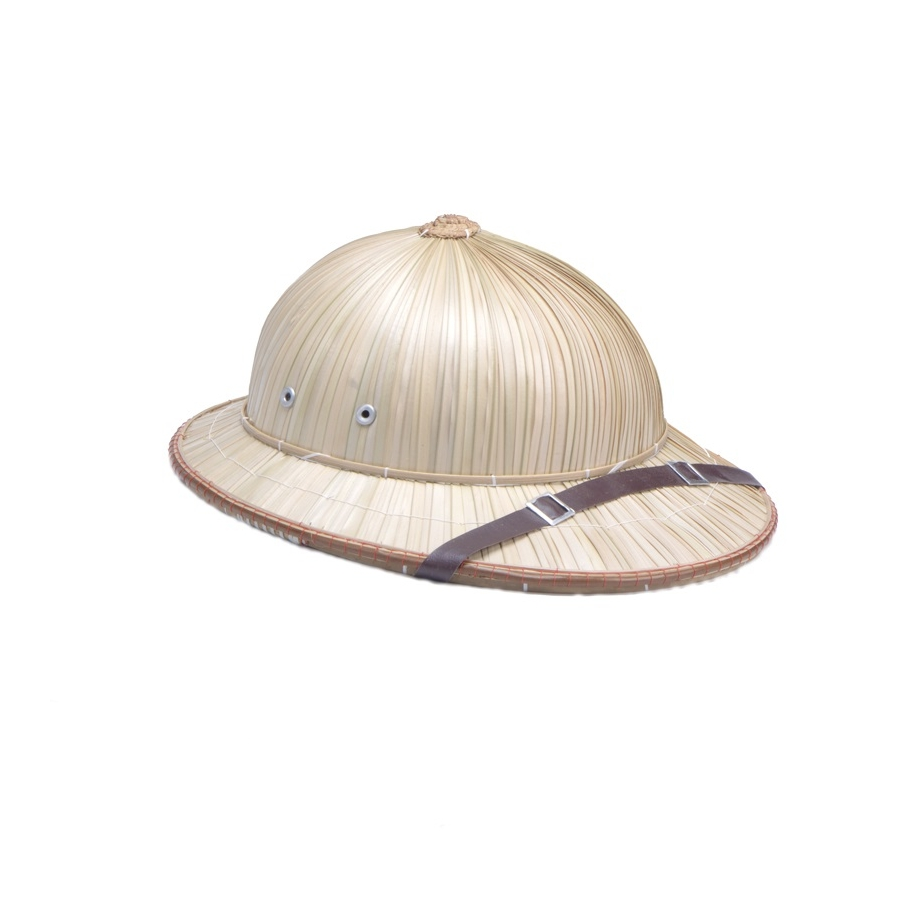 chapeau d 39 aventurier colonial en paille. Black Bedroom Furniture Sets. Home Design Ideas