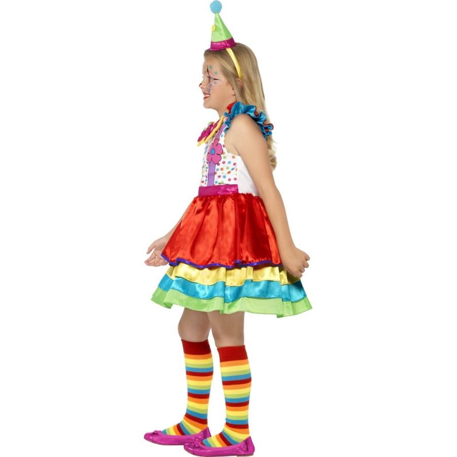 Costume de clown pour petite fille mod le luxe - Deguisement petite fille ...