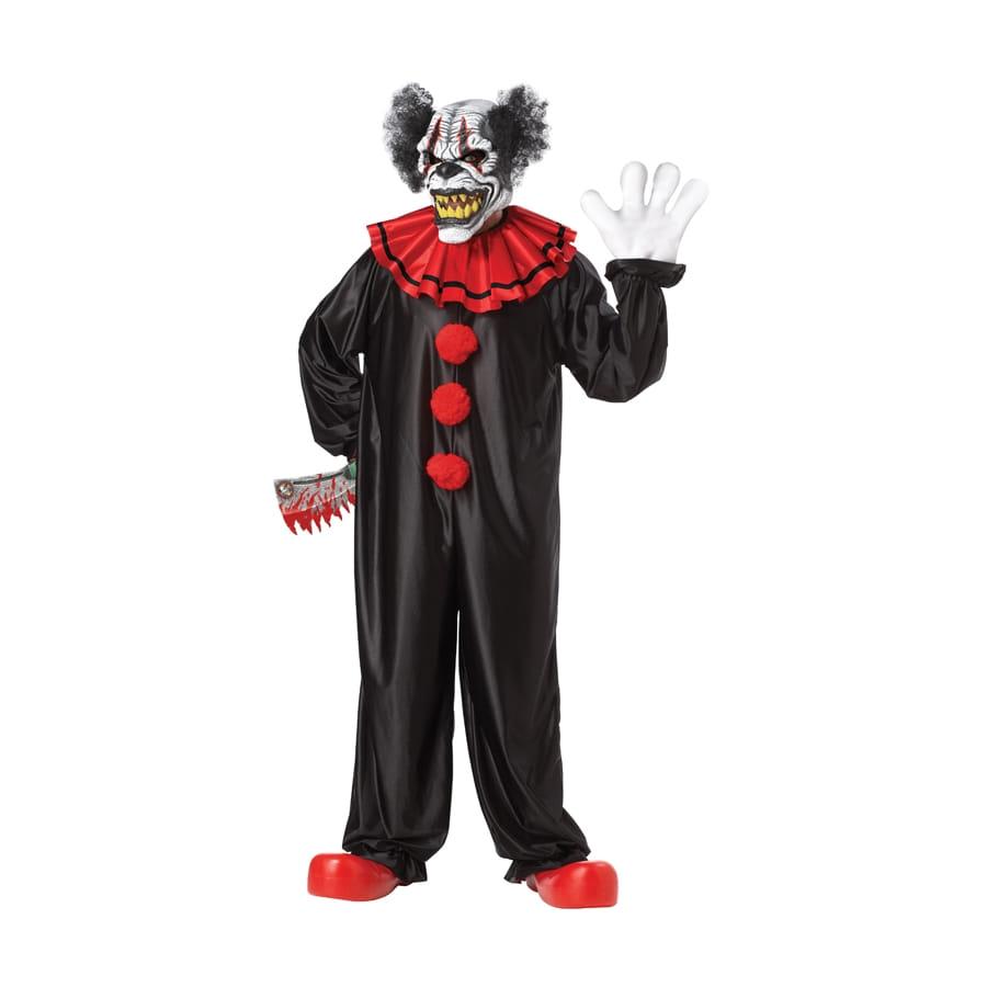 costume de clown squelette tueur. Black Bedroom Furniture Sets. Home Design Ideas