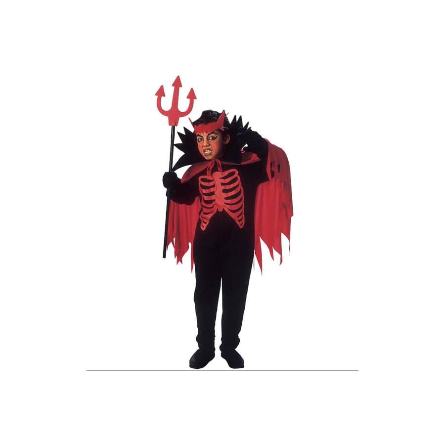 costume de diable squelette pour enfant. Black Bedroom Furniture Sets. Home Design Ideas