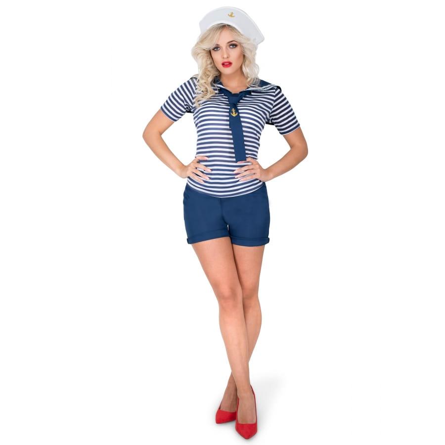 d0ad41292a Costume de femme marin en petit short