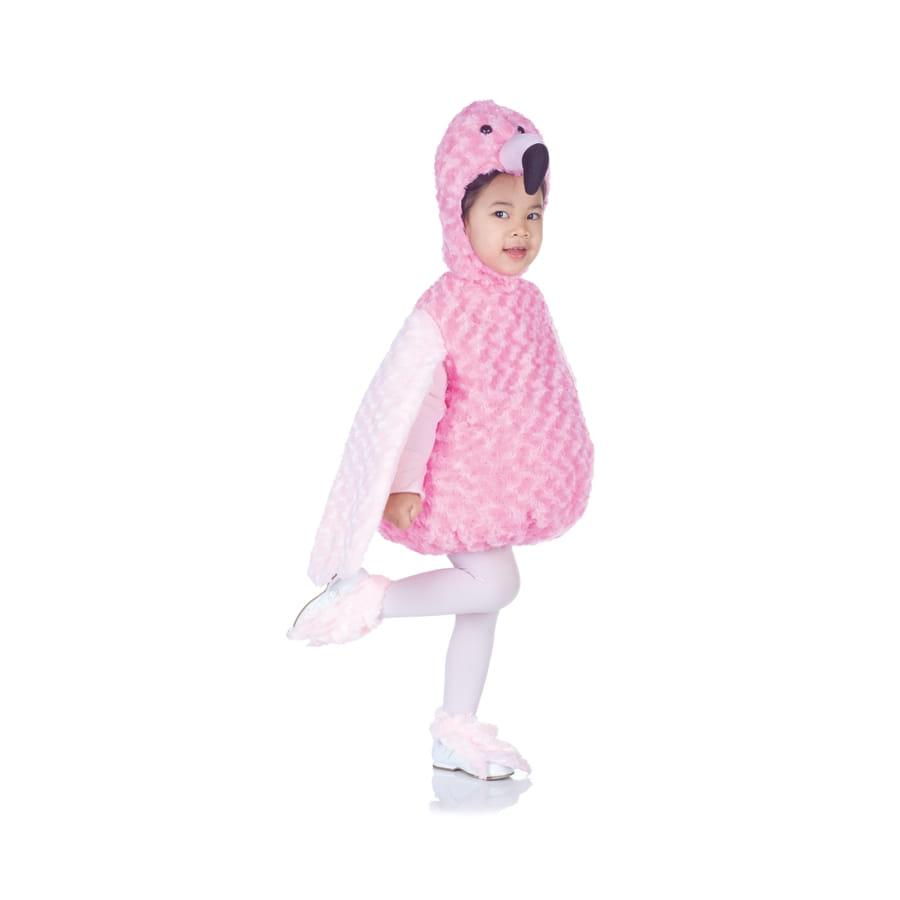 costume de flamand rose peluche pour enfant. Black Bedroom Furniture Sets. Home Design Ideas