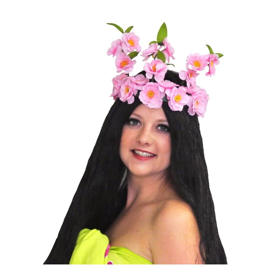 Couronne de fleur tahitienne - Fleuriste couronne de fleurs ...