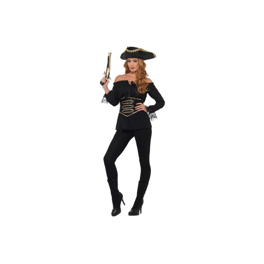 Pirate Noire Pour Chemise FemmeDeluxe De N0wPymnvO8